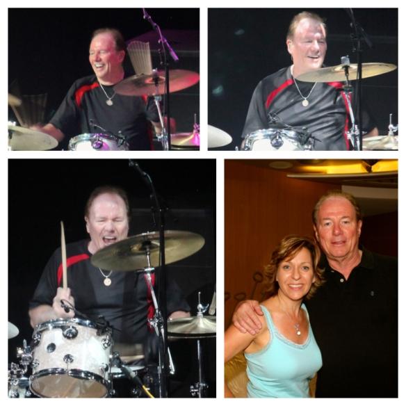 Monica & legendary drummer Aynsley Dunbar